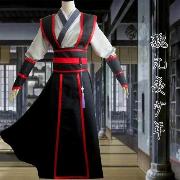 # # # #, Yang Sama Wei Wuxian Hanfu Saman Peranan Lelaki Bermain Cosplay