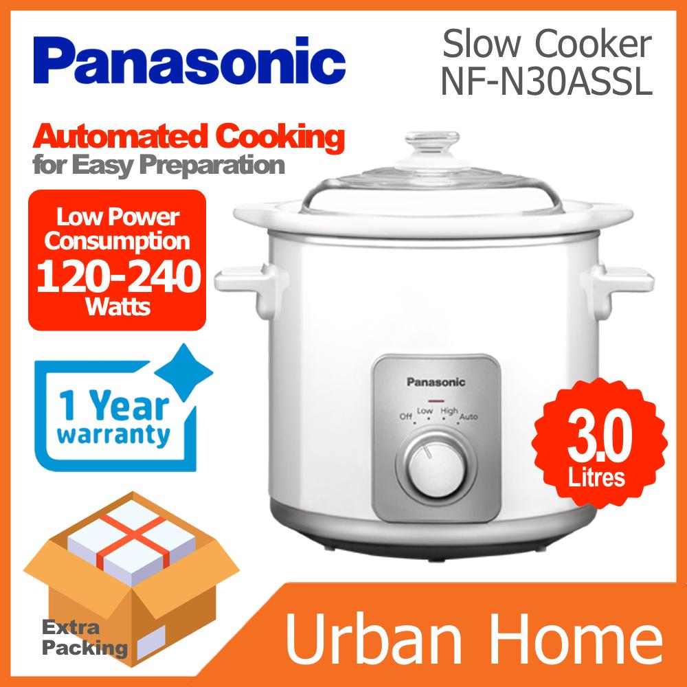 PANASONIC 3.0L Slow Cooker (NF-N30ASSL/NFN30ASSL)