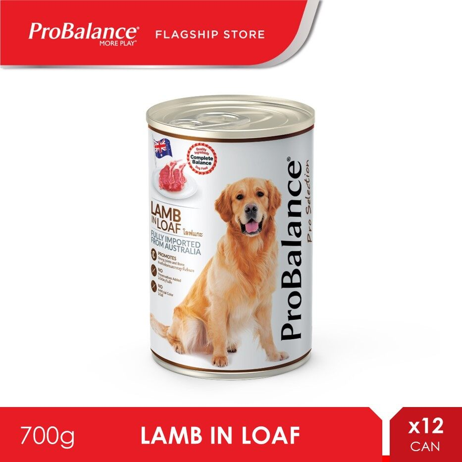 ProBalance 700G Lamb Pro Selection Adult Wet Dog Food x 12 Cans [makanan anjing]
