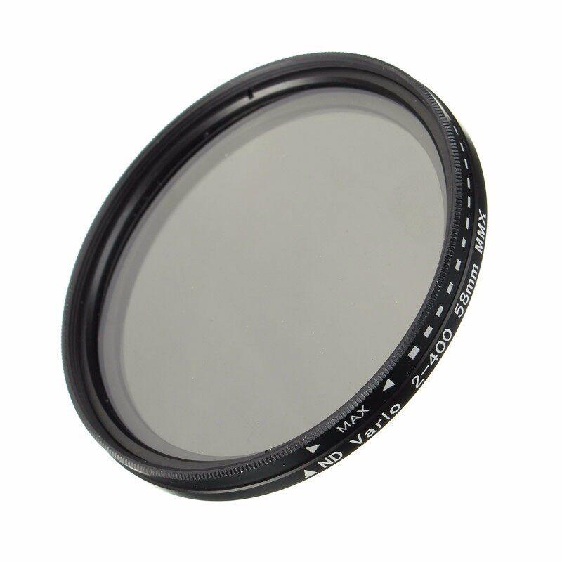 Lens Filters - ND Filter Fader Neutral Density Adjustable ND2 to ND400 Variable Filter 52-77mm - 62MM / 52MM / 67MM / 58MM / 77MM