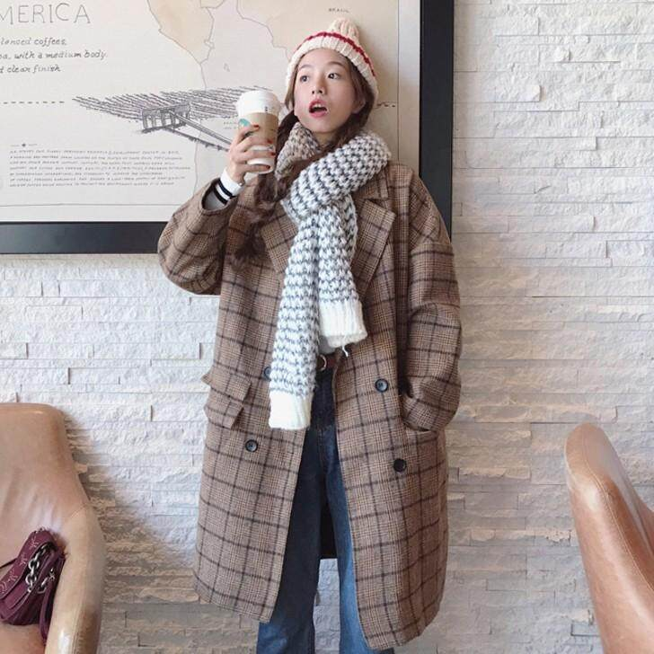 (Pre Order14 Days JYS Fashion Korean Style Women Winter CoatCollection522-5007col522-5007-
