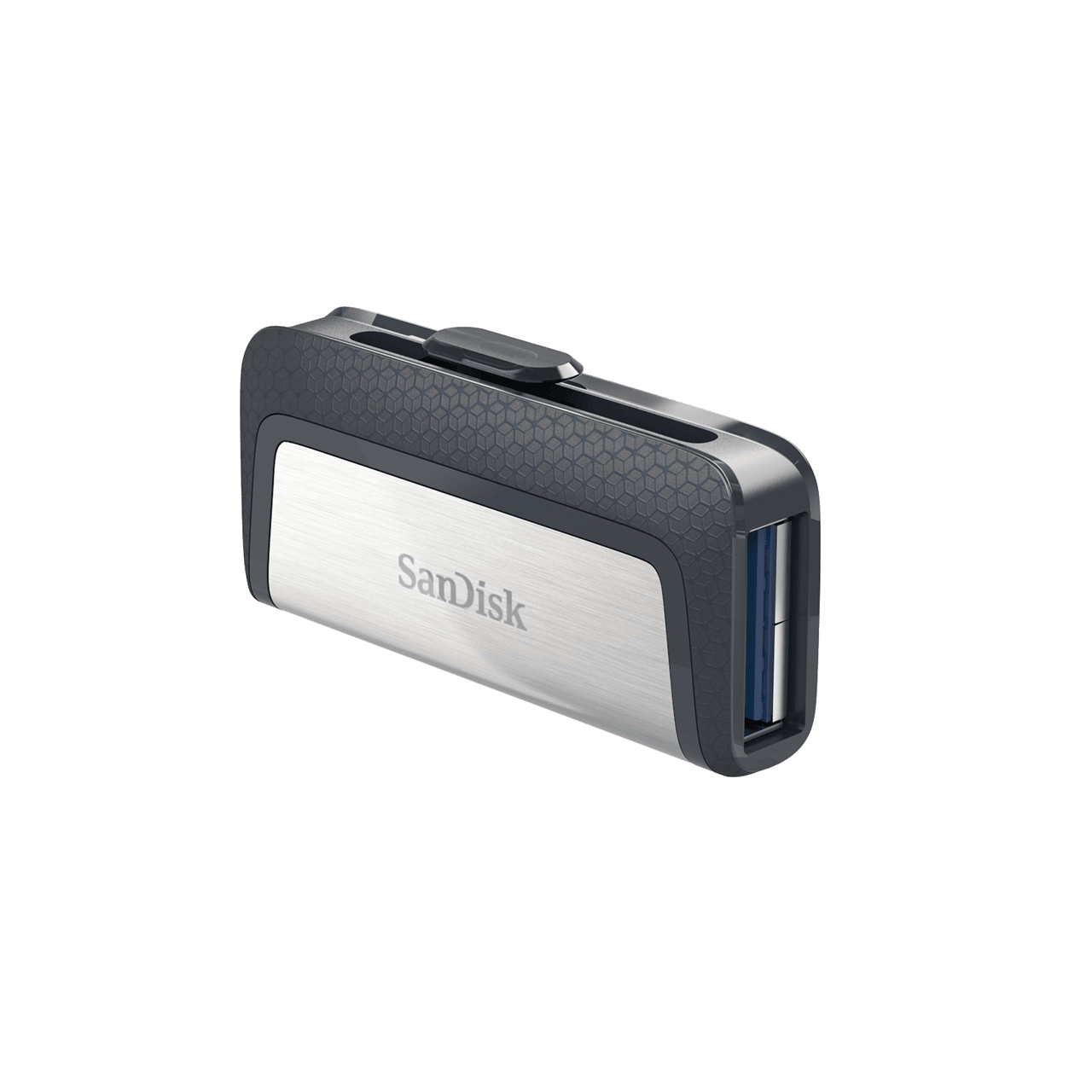 SanDisk Ultra Dual Drive OTG USB 3.1 Type-C with High Speed Transfer, Up To 150MB/s, Compact Size, Slide Design, SanDisk Memory Zone APP Support, Strap Hole (16GB / 32GB / 64GB / 128GB / 256GB)