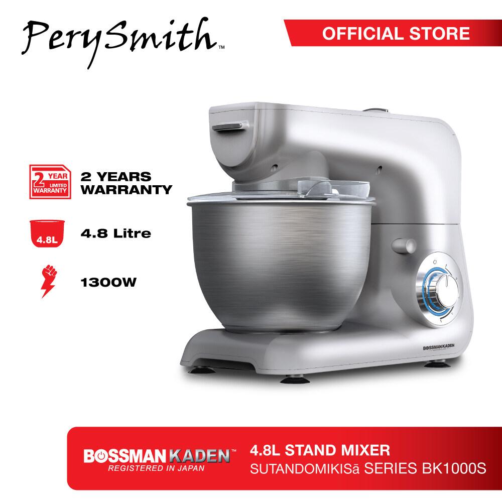 PerySmith 4.8L Stand Mixer X Bossman Kaden BK1000SBK1000S