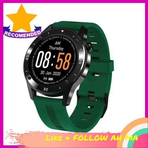 Best Selling F22 Smartwatch 1.54-Inch TFT Full Touchscreen Big Dial Watch IP67 Waterproof Fitness Tracker Sport Watch with Heart Rate/Blood Pressure/Sleep Monitor Multiple Workout Modes Pedometer Notification/Sedentary Reminder Alarm Clock Weather Remote