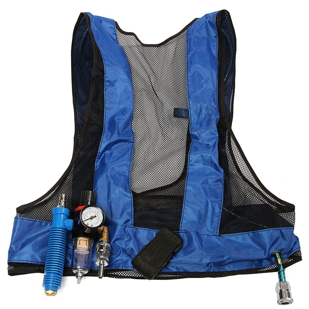 Cool Gadgets - Vortex Tube Air Conditioner Waistcoat Compressed Air Cooling Vest Welding Steel - Mobile & Accessories
