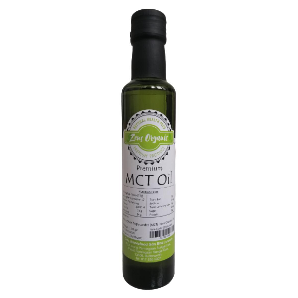 Zens Organic Premium MCT Oil 250ml