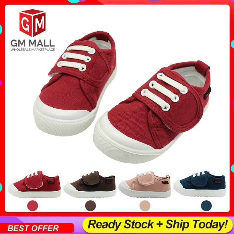 GM Mall Kids Shoes/Unisex Children Soft Shoes, Kasut Budak/Selesa Untuk Kanak - Size (EU21-30)