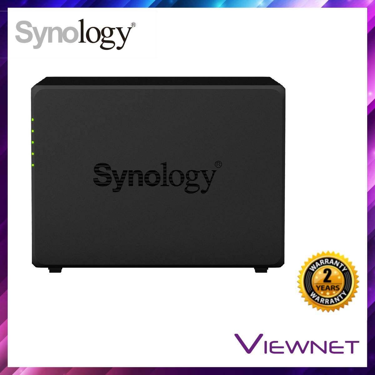 Synology Enclosure 4-BAYS/REALTEK RTD1296 QC 1.4GHz/2GB (DS418) NAS