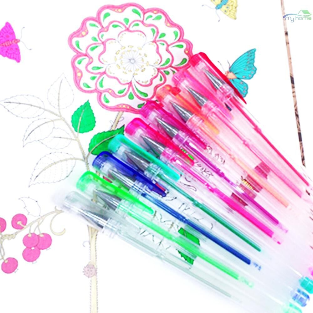 Lighting - 1/100/200 PIECE(s) Colorful Gel Pens SET Fine Point Art Marker Drawing Smooth Writing Glitter Pen - 1 PIECE(s)