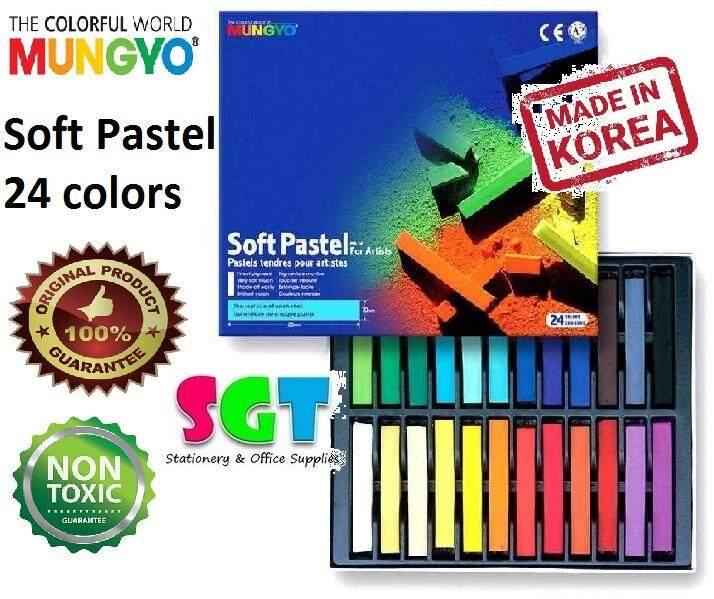 MUNGYO Soft Pastel 24 colors
