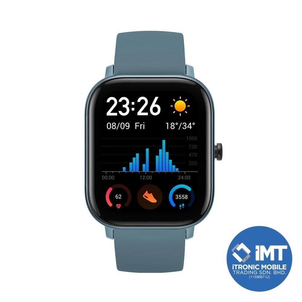 [ORIGINAL MALAYSIA SET] Huami AMAZFIT GTS Smartwatch - Black/Blue/Gold/Pink/Orange/Grey