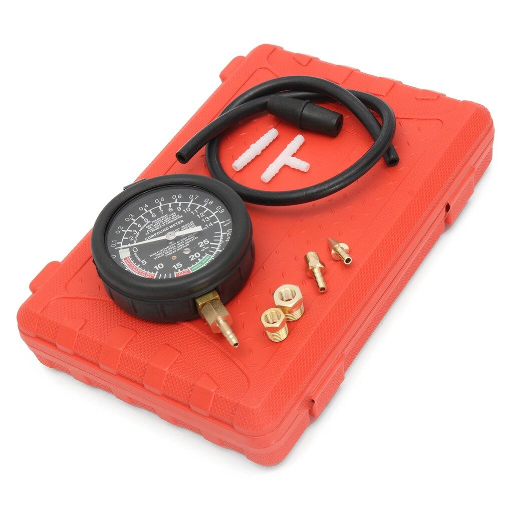 Moto Accessories - Motorcycle Carburettor Carb Vacuum Gauge Balancer 2/4 Cylinder For Honda Toyota - Motorcycles, Parts