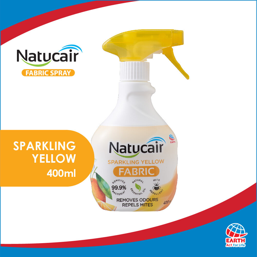 Natucair Fabric Spray Sparkling Yellow (400ml)8936013251523