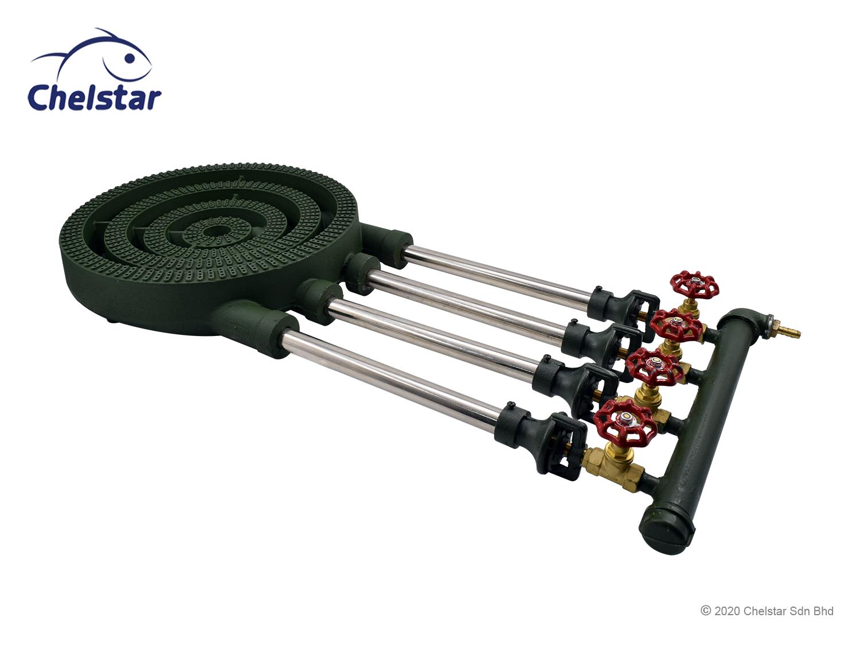 "Chelstar Low Pressure Cast Iron ""B & C"" Gas Cooker / Stove (CF-220)"