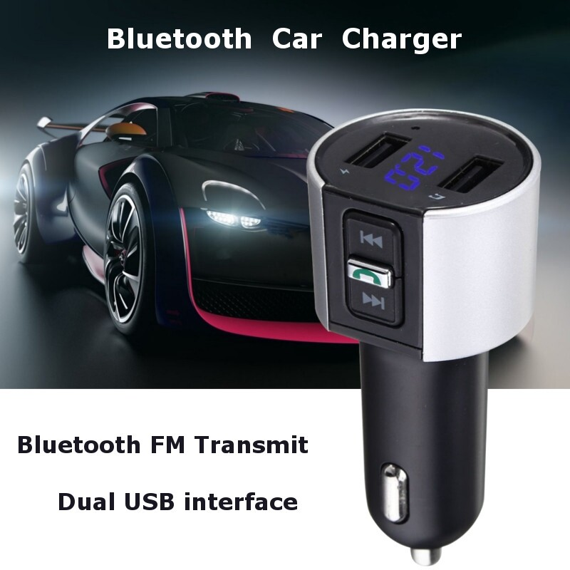Car Multimedia Players - USB Charger MP3 Player Car BLUETOOTH Kit FM Transmitter WIRELESS Radio Adapter - Electronics