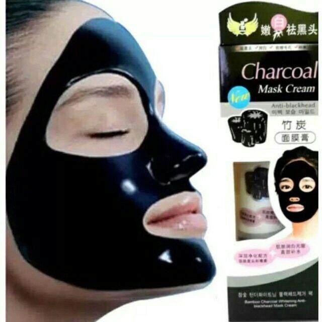 FREE GIFTBlack Mask Charcoal Cream Anti Blackhead