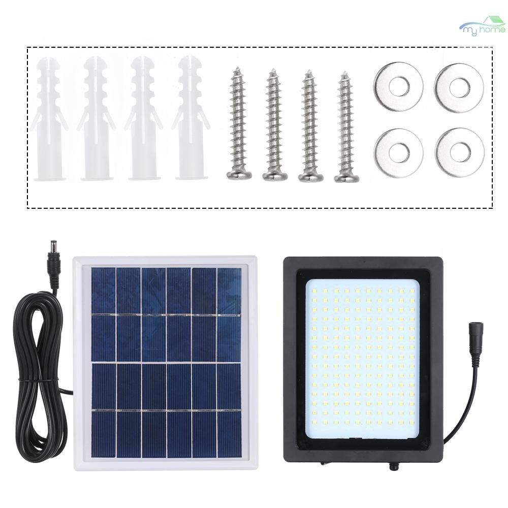 Lighting Fixtures & Components - Super Bright Solar Powered Floodlight 150LED Outdoor Waterproof Landscape Lamp Lights for Home - #