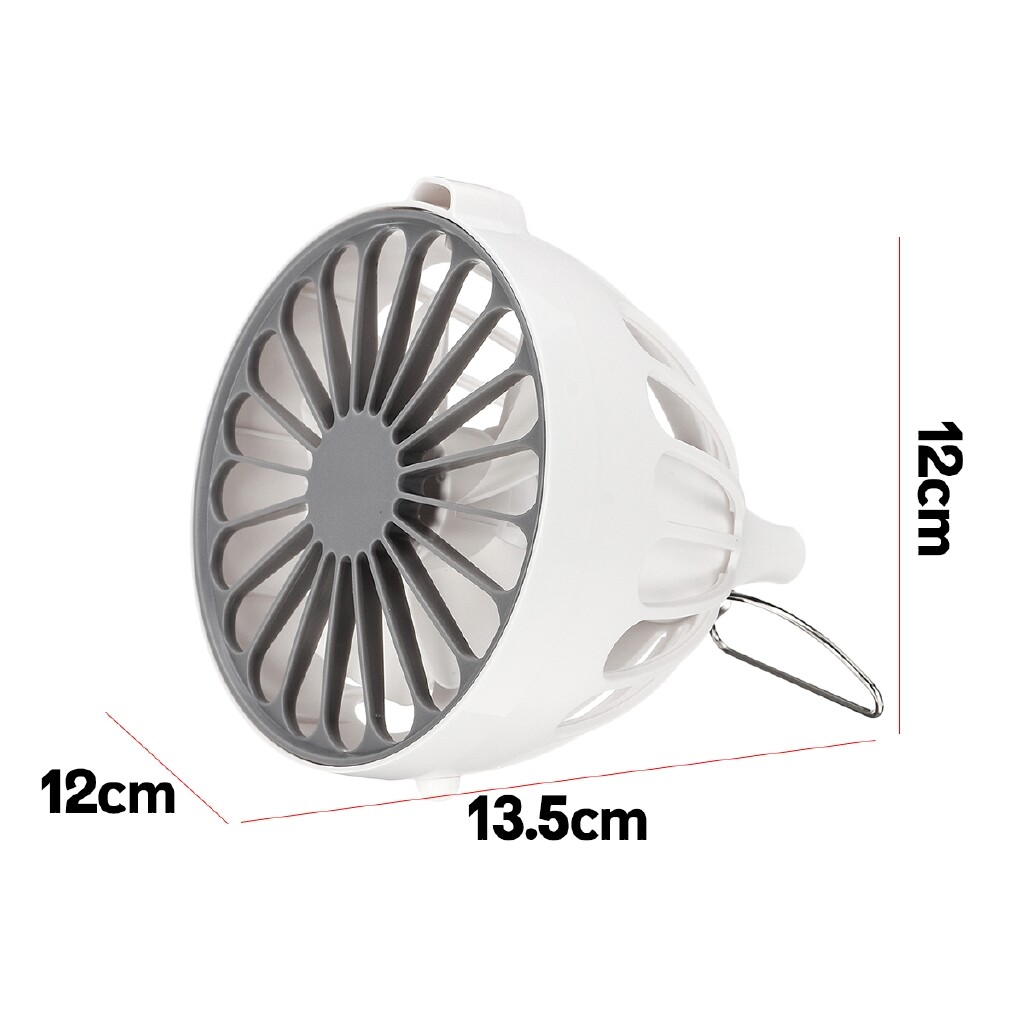 Air Conditioner Accessories - PORTABLE Air Conditioner USB Cooling Fan Humidifier Clean Cooler Fan 3-Speeds - Cooling & Heating