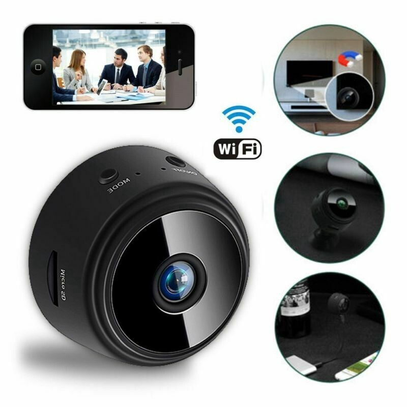 MINI Spy Camera WIRELESS Wifi IP Home Security HD 1080P DVR Night Vision Remote+32G TF Card