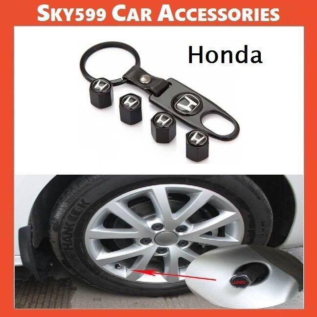 Styling Honda Car Wheel Tire Tyre Valve Stem Air Caps Car Cover 4Pcs?Set?