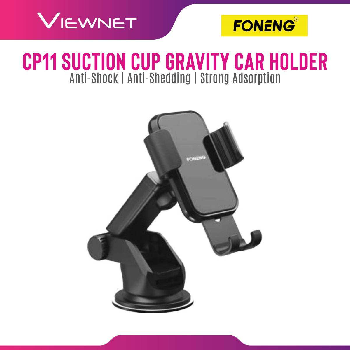 FONENG CP11 Suction Cup Gravity Car Mount Holder