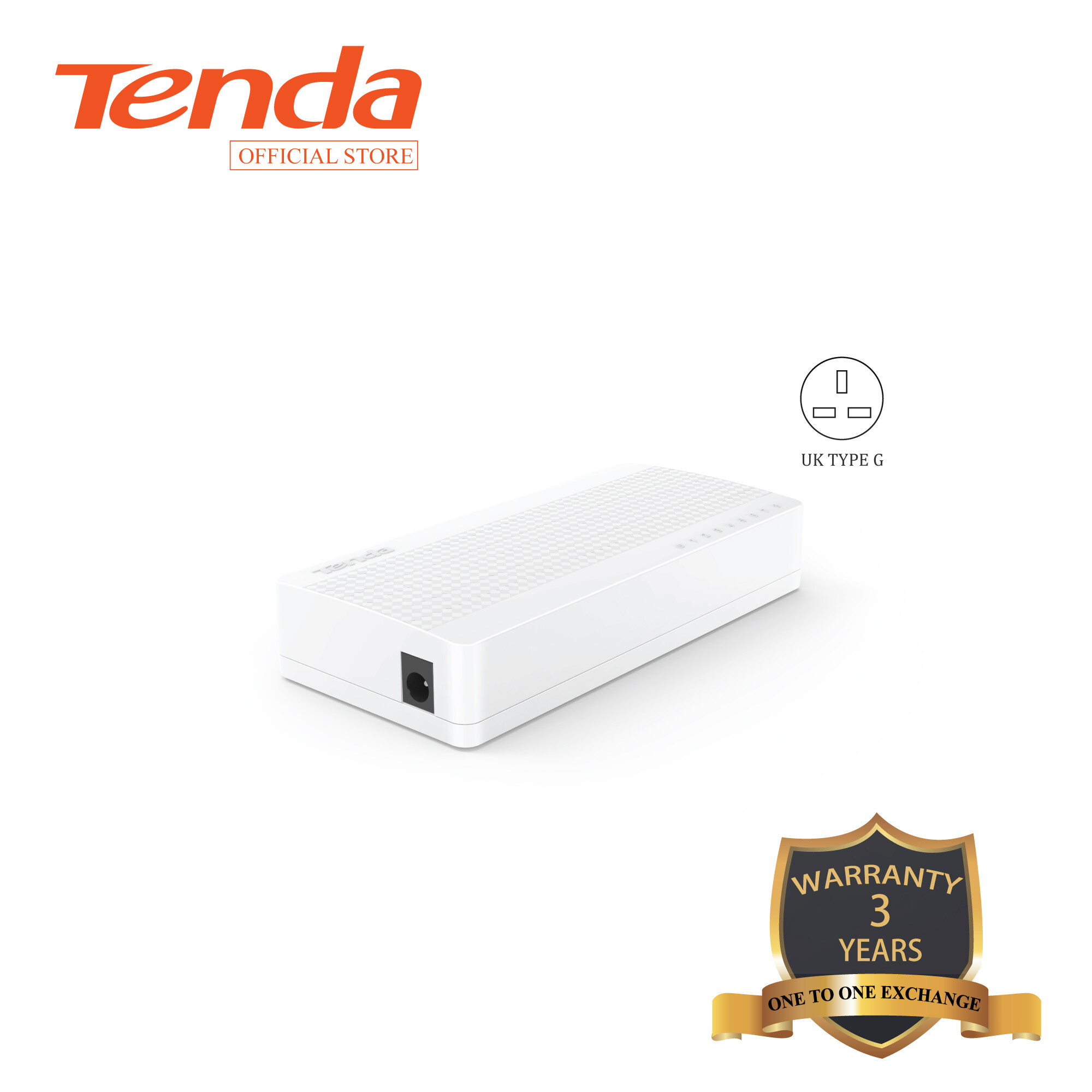 Tenda S108 8-port 10/100M Fast Ethernet Switch