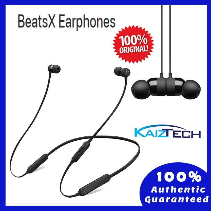 100% Original BeatsX Earphones - Black (1 Year Malaysia Warranty)