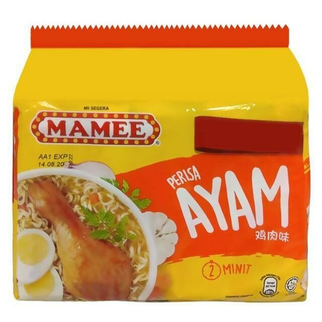 Mamee Instant Noodles - Ayam (75g x 5)