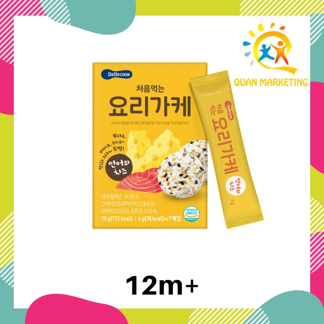BeBecook Rice Topping Powder Salmon & Cheese Flavor - Baby/Child Instant Dishes and 100% import from Korea