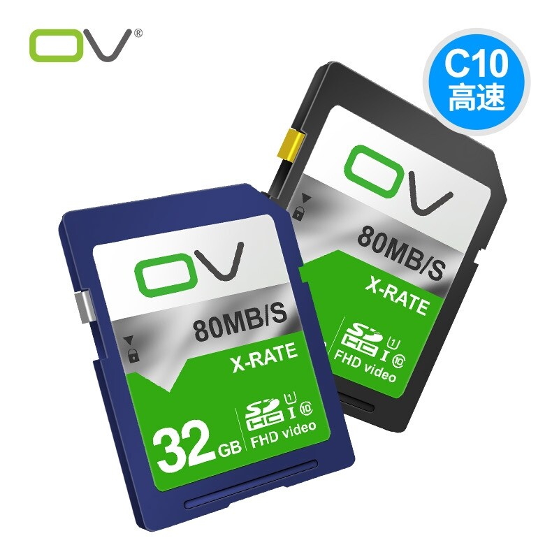 Memory Cards - OV X-Rate C10 Memory Card for DSLR Camera Photography Support Video Taking - Storage & Hard Drives