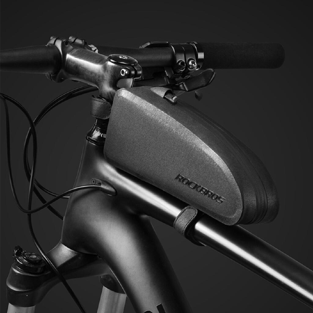 Men's Backpacks - Cycling Top Tube Frame Bag Large Capacity ROCKBROS Waterproof MTB Road Bike Bag - S / L