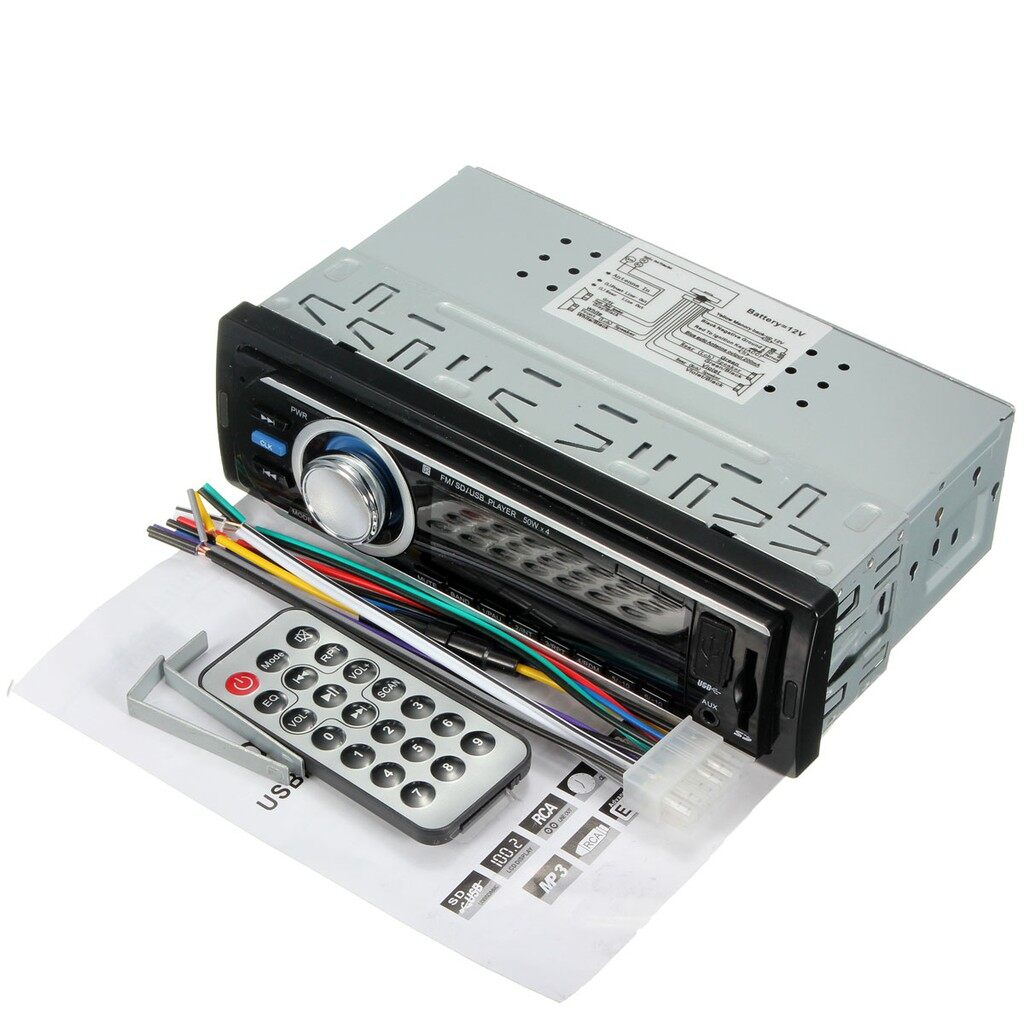 Car Radios - FM and MP3 Car Stereo Radio Player Receiver Aux - Electronics