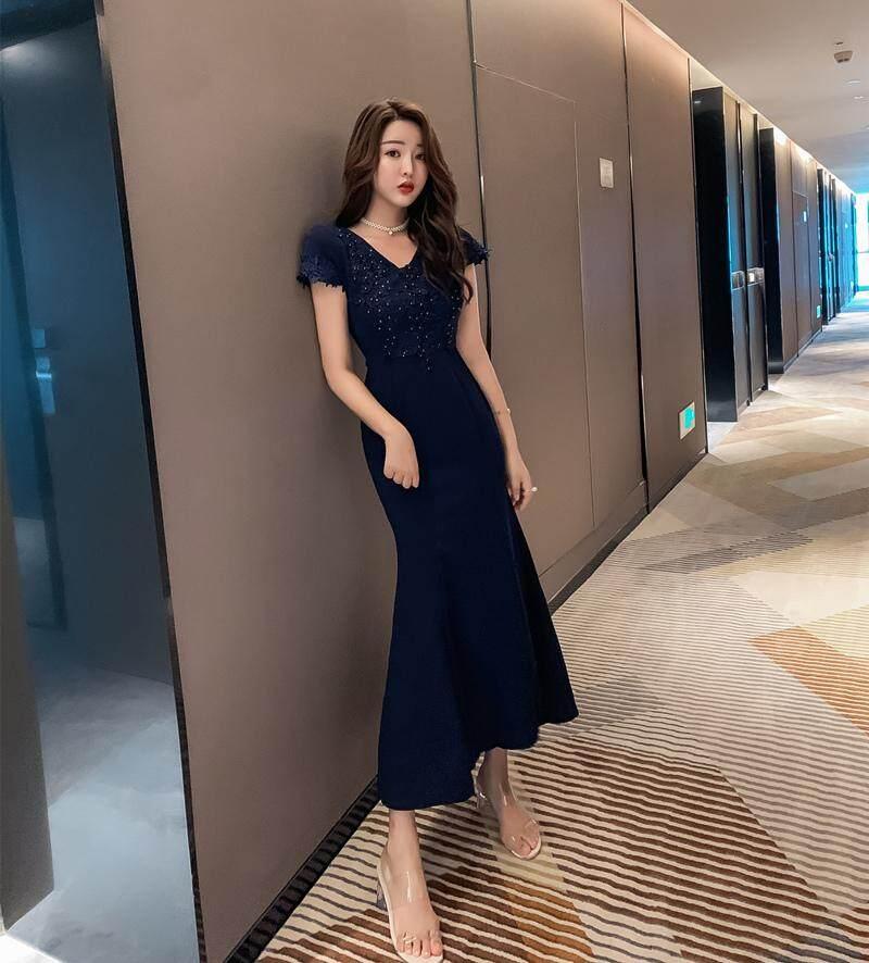 JYS Fashion Korean Style Women Dinner Dress Collection 521- 7043