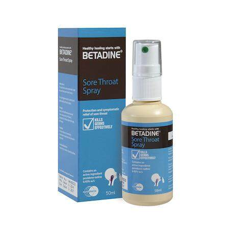 Betadine Sore Throat Spray 50ml