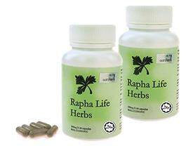 Rapha Life Herbs traditional medicine diabetes regenerate new cell 100% natural herbs (150 capsules)