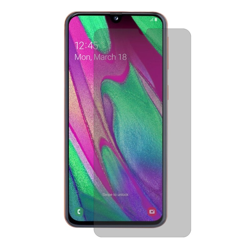 Android Tempered Glass - Enkay Anti-peeping 2.5D Curved Edge Tempered Glass Screen Protector for Samsung Galaxy A40 - Screen Protectors