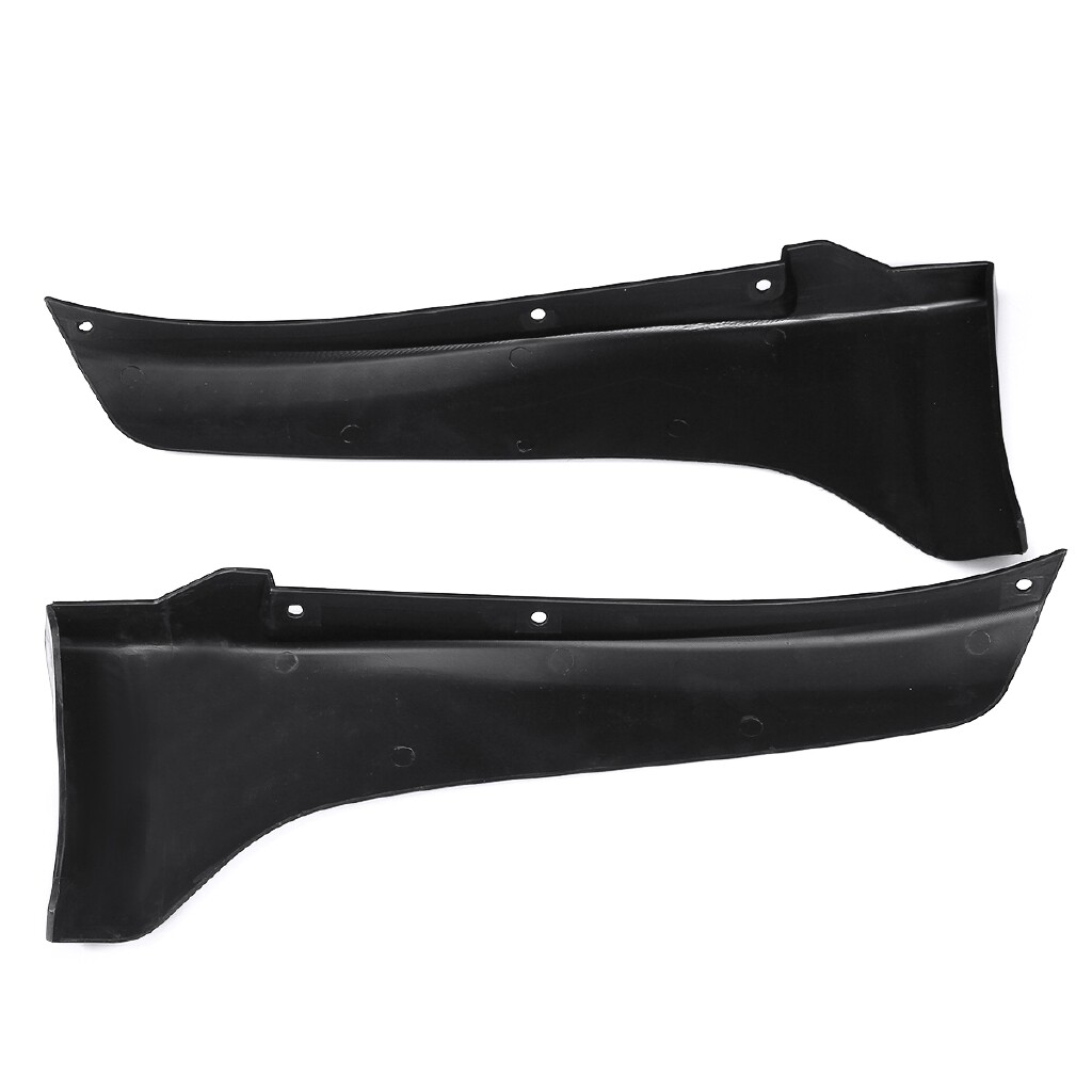 Engine Parts - Lip Diffuser Rear Bumper Splitter Canard Protector For 2014-2017 Infiniti Q50 - Car Replacement