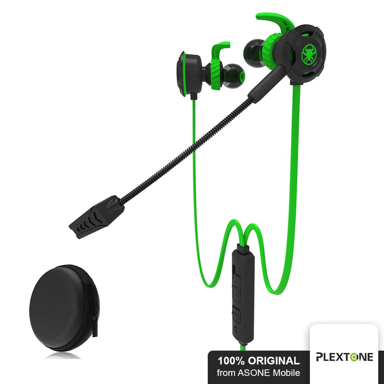 Original Plextone G30 In-ear Gaming Earphones Stereo Computer Game Headphones With Mic PC Gamer Headset