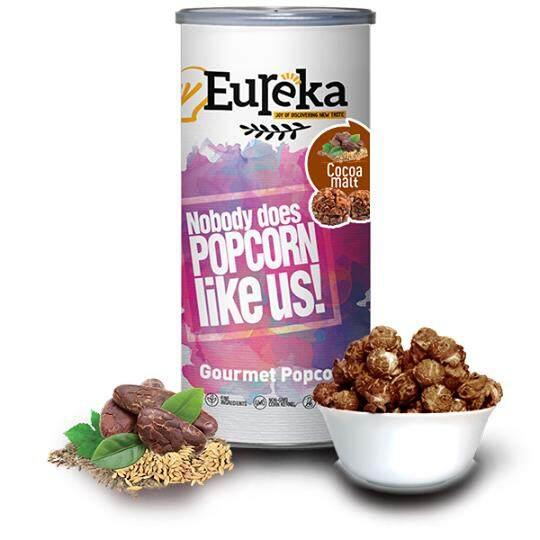 Eureka Cocoa Malt Popcorn Snack (Paper Can)