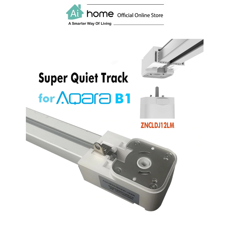 AQARA B1 Smart Curtain Track [ CUSTOMIZE ] with 1 Year Malaysia Warranty [ Ai Home ]