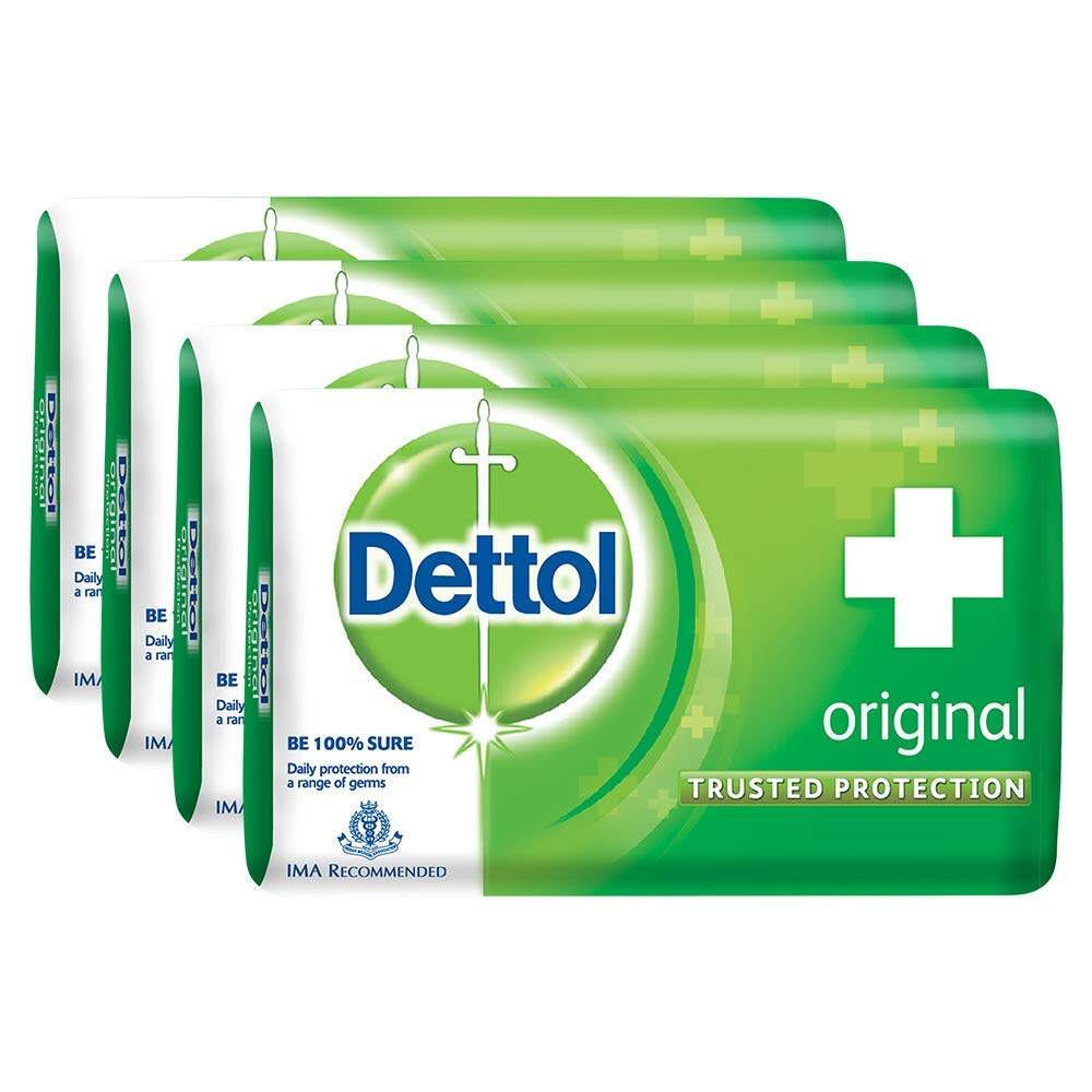DETTOL SOAP 100 GM x 4 PICS