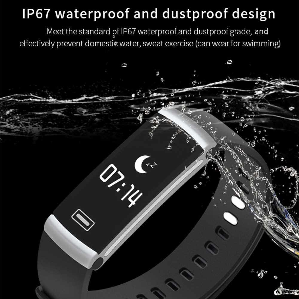 Best Selling IP67 Waterproof Smart Wristband Bracelet - Woman (Black1)