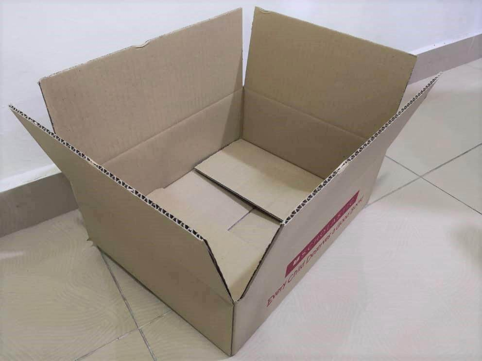 4pcs Printed Carton Boxes (L385 X W302 X H125mm)