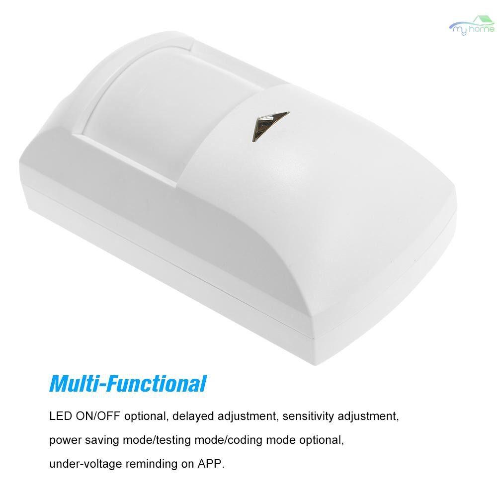 Sensors & Alarms - Broadlink S1C S1 S2 PIR Motion Sensor WiFi Intelligent Controlled 433MHz WIRELESS Passive Infrared - WHITE