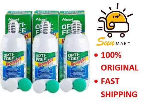 Alcon Opti-Free Replenish Muti-Purpose Solution (300ml x 3)