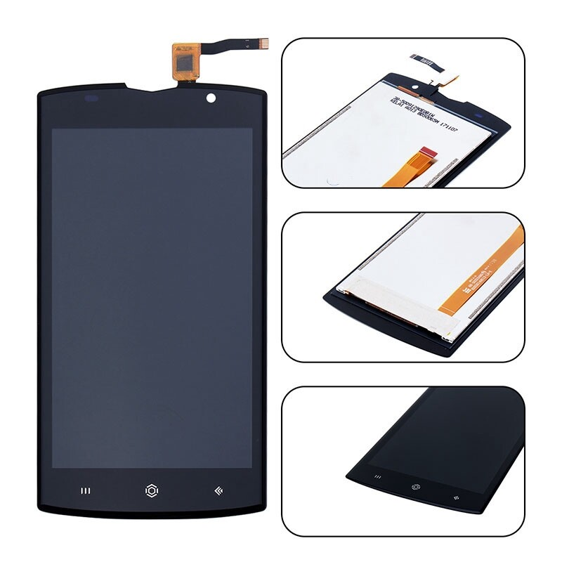 For Homtom ZOJI Z7 LCD Display + Touch Digitizer Screen Assembly + Repair Tools