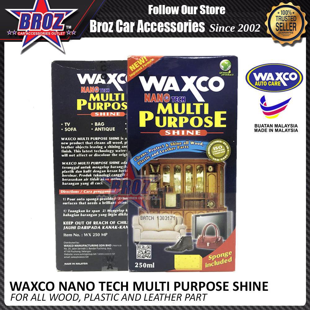 Broz Waxco Nano Tech Multi Purpose Shine 250ML