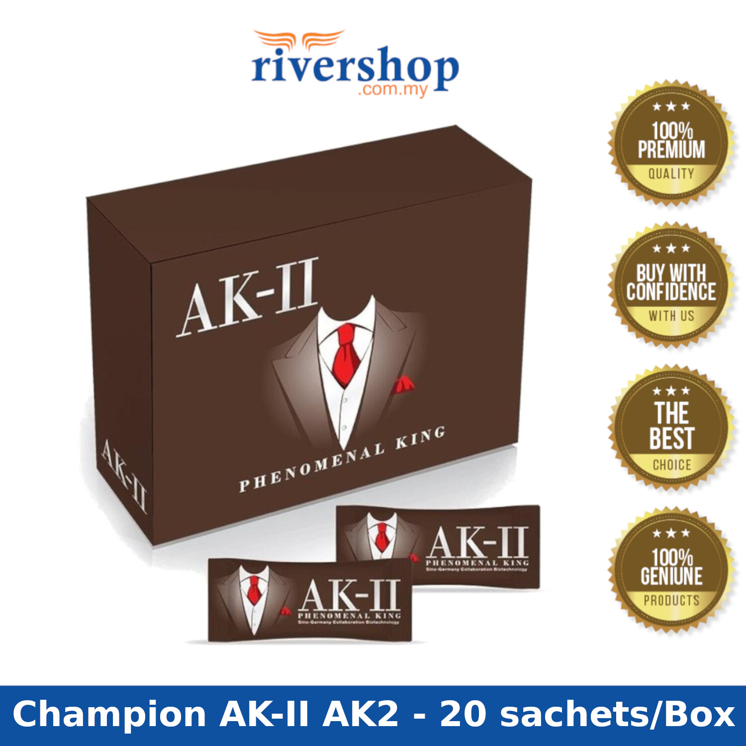 [Ready Stock] AK-II (AK2) or AK-II (K2) Phenomenal King AK2 for Men's Treasure
