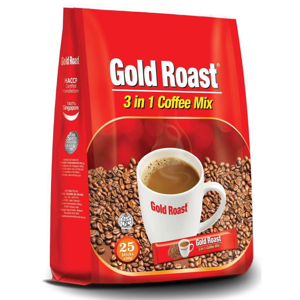 [FSC] Gold Roast 3in1 Coffee-mix 25sachets x 20gm