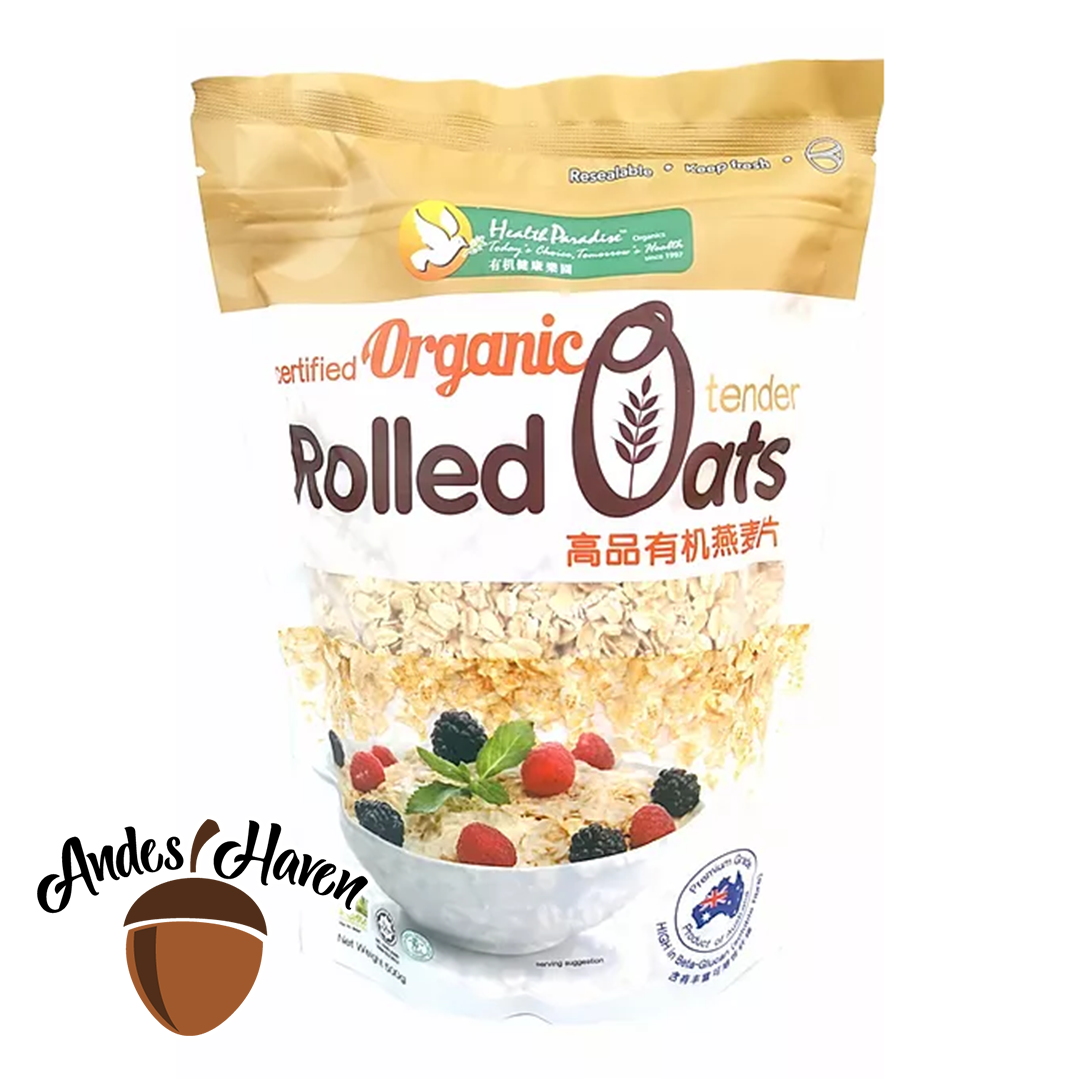 【Health Paradise】Organic Rolled Oats - 500g